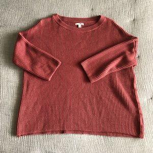 Amuse Society Knit Boxy Sweater